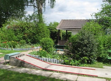 Miniature golf course on Venn Bielefeld